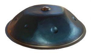 Steel Handpan No. 2 D-Minor-Timberwolf